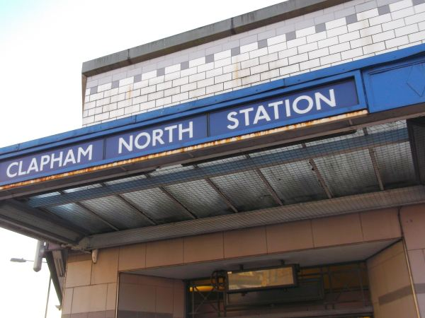 well its time to say good bye to clapham north from 1991 as once again i walked with clapham sw9 men