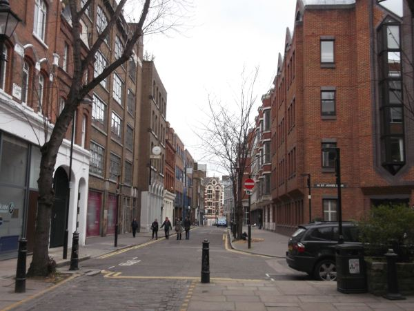 the return to clerkenwell from 1983