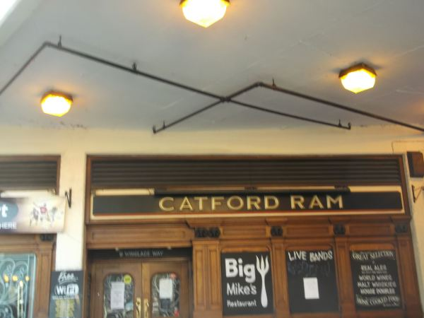the return to catford se6 from 1986 part two dynnargh welclome falite croeso