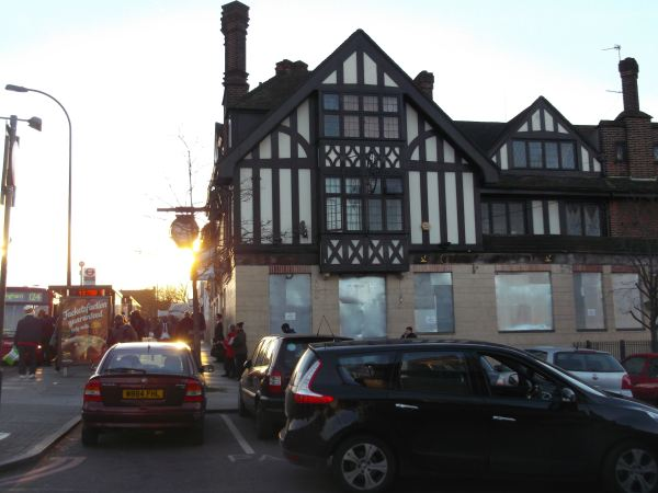 this is one of the many pubs in the town not far from the catford station s