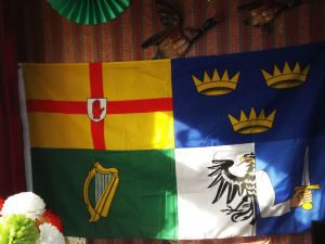 and this is the four proverances of Ireland munster leinster  counnaught ulster