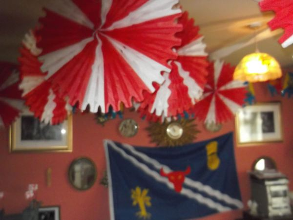 so its time to look at whats coming up on the blog well this is a taste of stgeorges day decorations dynnargh welclome falite croeso