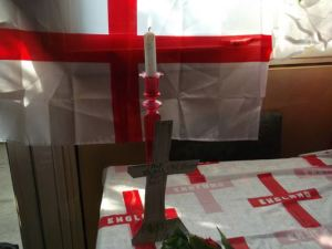 the England flag that should fly in all English citys