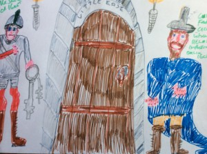 Guy Fawkes was kept prisoner in the cell called little ease in the Tower of London in 1605