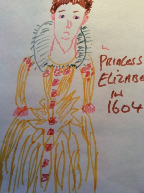 Princess Elizabeth the first queen in waiting in 1600